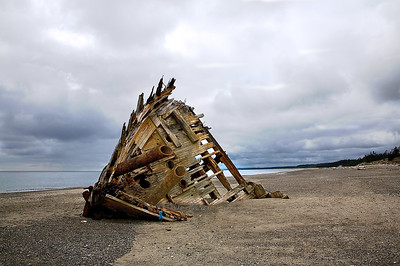 Wreck of S.S. Pesuta Queen Charlotte Islands, British Columbia, Canada