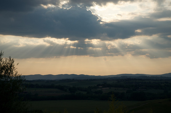 Late afternoon rain - Tuscany 2011
