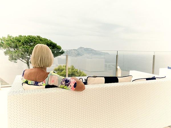Jean admiring view