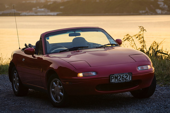 MX5 after refurbishment