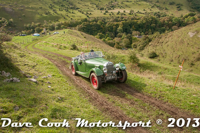 This one's got both a lovely car and some of the Derbyshire scenery, Christopher Adeney's Morgan +4