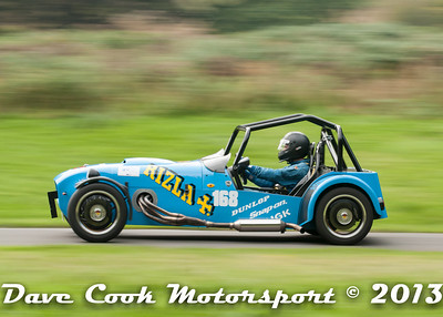 No. 168 Class R(ii) Michael Andrews MK lndy at the Loton Park Hill Climb in September 2013