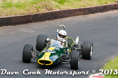 John Cottrill's  Lotus 51A at Shelsley Walsh, Best of British event , June 2013