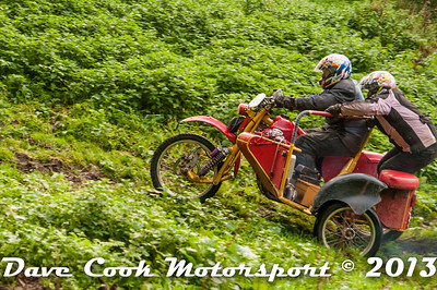 Simon and Debbie Eddy's climb of the old Litton on their Honda XR outfit was amazing.  MCC Edinburgh Trial