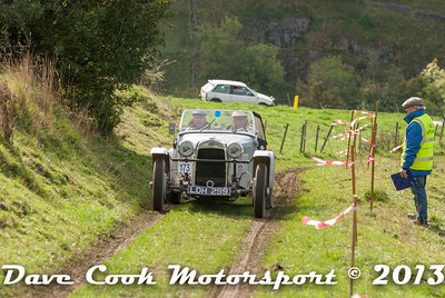 Ivan Sharrock's  HRG on New Litton another lovely car