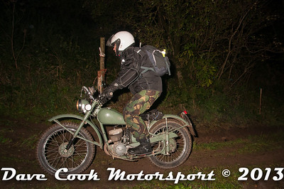 Ian Watkins; BSA Bantam, you be either brave or mad to attempt an MCC trial on a Bantam.