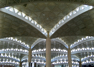 King Khaled International Airport, Riyadh, Saudi Arabia