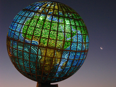 """Planet Earth"" roundabout, Jeddah."