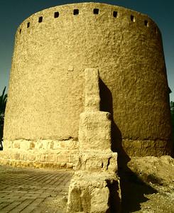 Mud brick ruins, Diriyyah, Riyadh