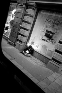 Oslo beggar.