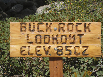 I had no idea what Buck Rock Lookout was but I had to find out.