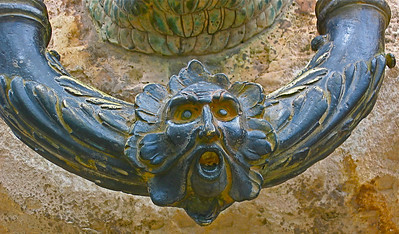 Alhambra door pull/knocker, Granada, Spain