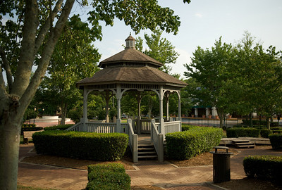 Gazebo, Fayette County government complex