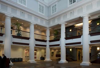 Fayette County Justice Center, interior