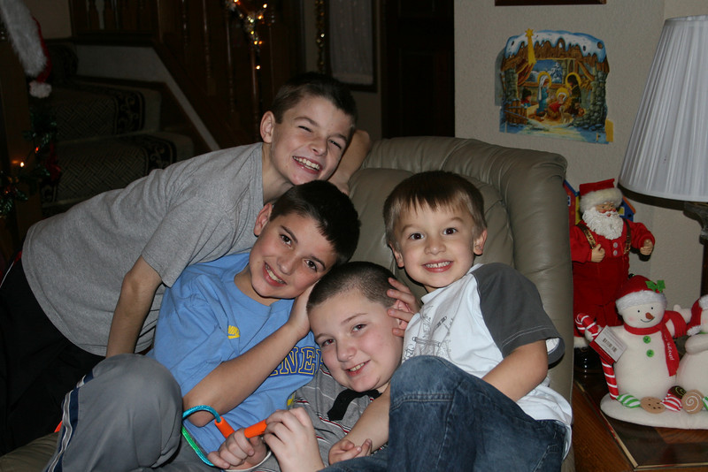 Chase, Wes, Alex and Connor - another great shot!