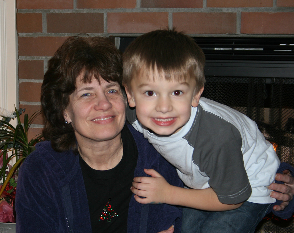 Gramma Cindy and Connor