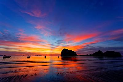 Andaman Sunset, Trang, Thailand