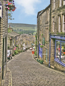 Haworth, England - Home of the Bronte Sisters