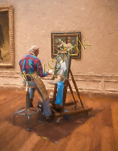 1084 Museum Painter 11x14