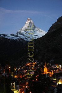 Zermatt, Switzerland morning