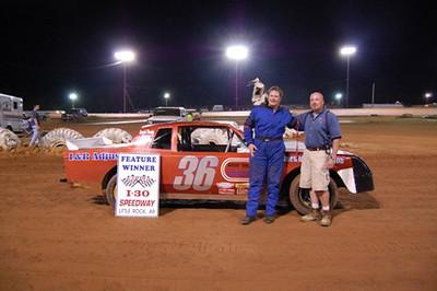Super Stock Feature Winner #36 John Kelley