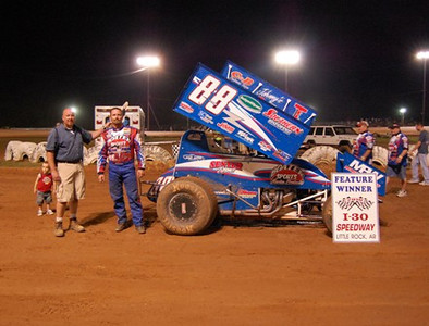 Sprint Feature Winner #88 Tim Crawley
