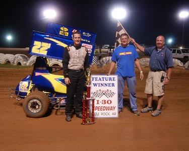 #22j Josh Rehm Mini-Sprint Feature Winner