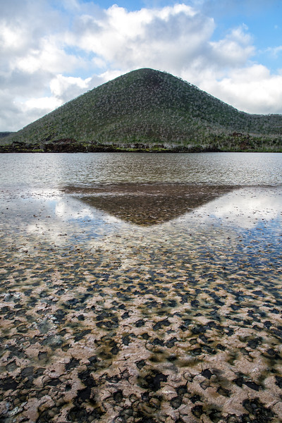 Volcanic Cone Reflection