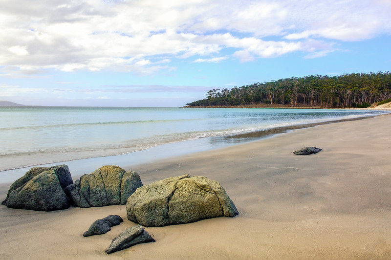 Beach Stones, Maria Island