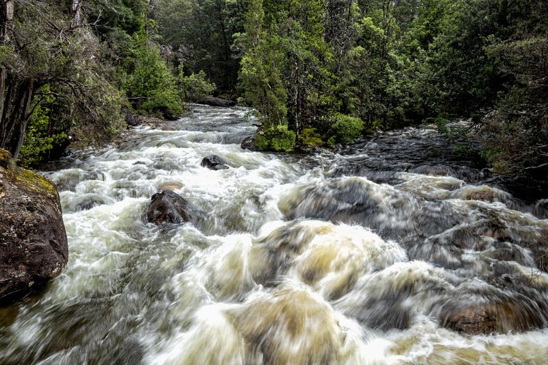 Raging Stream, Lake St. Clair National Park