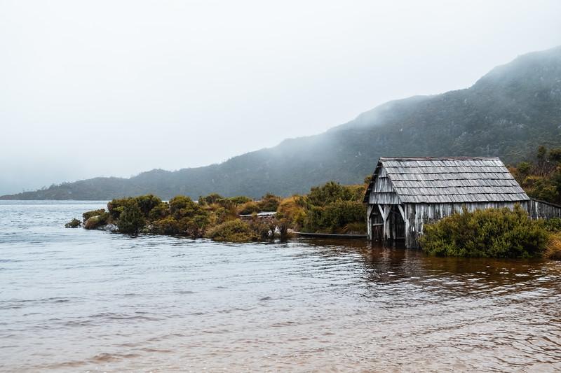 Dove Lake Boathouse, Cradle Mountain National Park