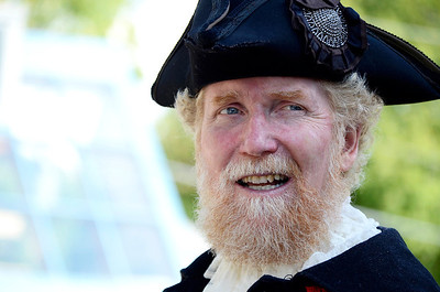 Kit Bresnahan, Town Crier, Eden Mills  Shari Lovell Photography