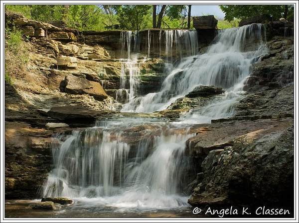 "June Featured Photo - ""Chase Co. Falls"""