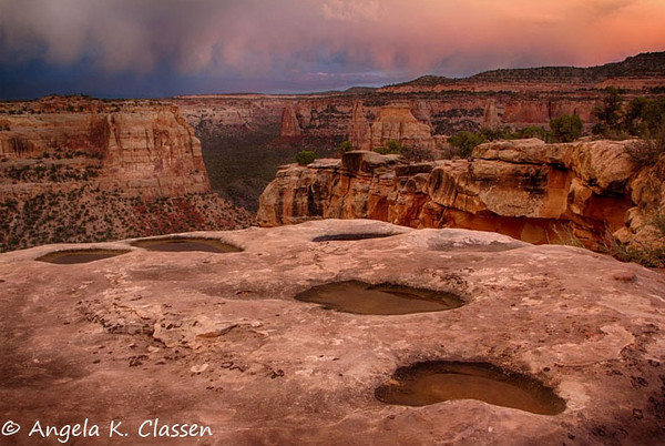 "June Featured Photo - ""Pothole Sunset"""