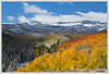"October 2013 Featured Monthly Photo<br /> ""Flat Tops Magic""<br /> Flat Top Mountains near Steamboat Springs, CO"