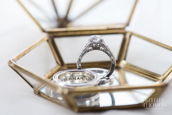 Cecily & Jason | Tacori + David Yurman rings | St Augustine, FL