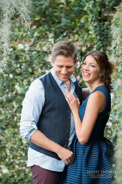 Laura & Chase | Engaged | The Peachtree House | Orlando, FL