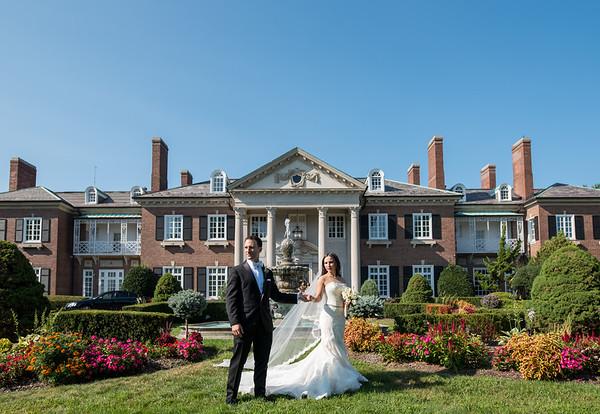 Jillian & Andrew | Glen Cove Mansion | Glen Cove, NY
