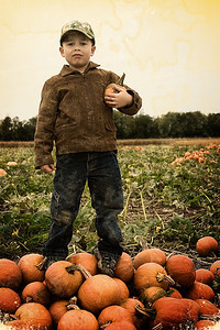 Little Pumpkin Farmer