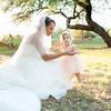Bride & Daughter | Windmill Winery | Florence, Arizona