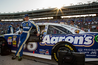 Mark Martin - ready for a day at the office.