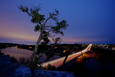 "The 360 ""Penny Backer"" bridge, Austin, TX."