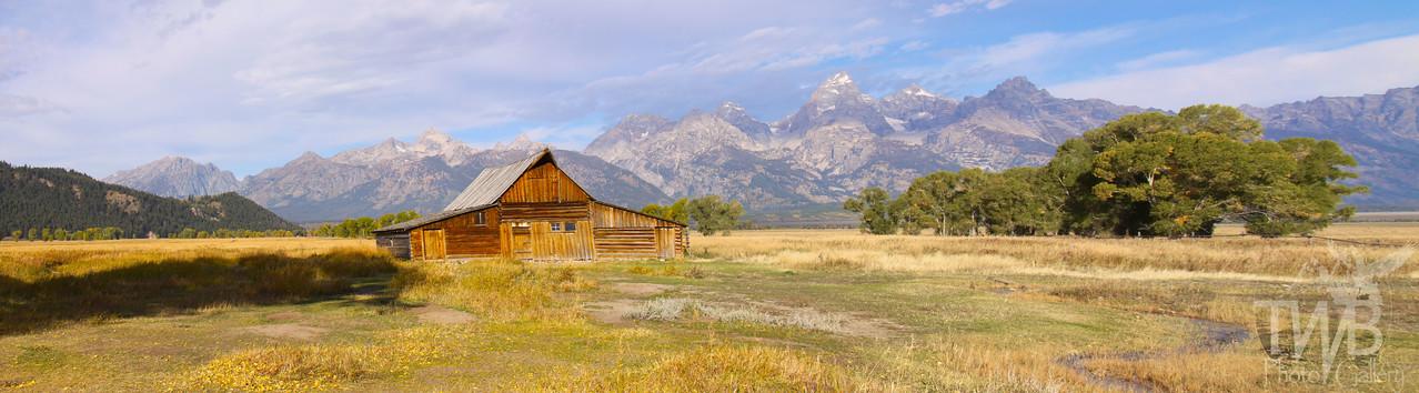 Mormon Barn, Grand Tetons N.P.