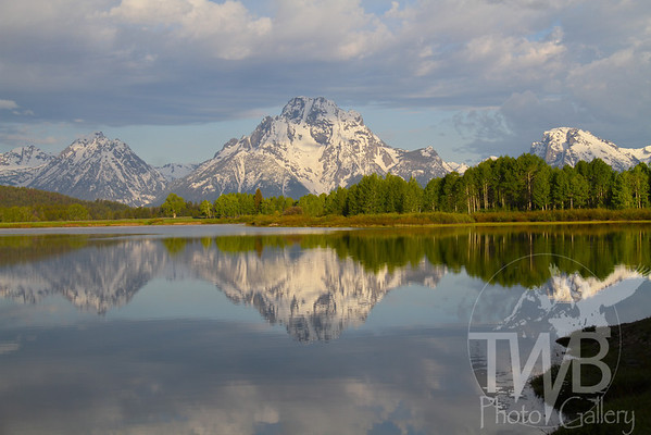 """cool reflections "" Grand Tetons"