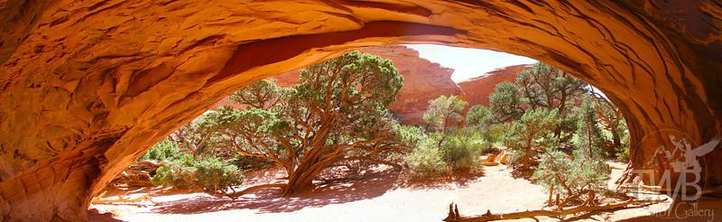 Apache Arch, Arches N.P., Utah