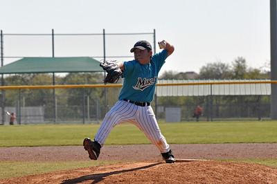 2011 Marlins U11 Baseball - Feliz pitching