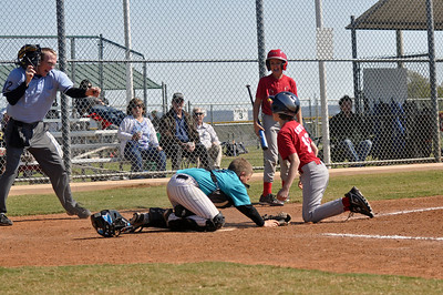"2011 Marlins U11 Baseball - ""You're Out!"""