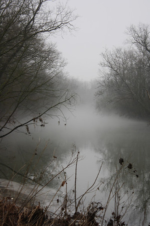 Fog on the White River, January 28, 2013<br /> <br /> Photographer's Name: Rachel  Landers<br /> Photographer's City and State: Anderson, IN
