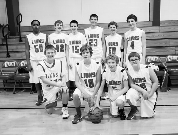 Liberty Christian Middle school Basketball PAAC Winners 2013<br /> <br /> Photographer's Name: Terry Lynn  Ayers<br /> Photographer's City and State: Anderson, IN