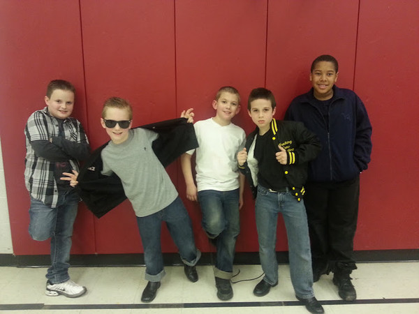 APA Elementary School Dance - Boys too cool for school!<br /> <br /> Photographer's Name: Sherry Reed<br /> Photographer's City and State: Anderson, IN